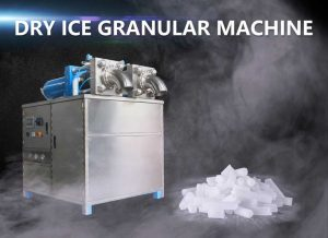 Dry ice granular machine