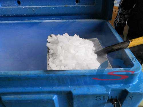 dry ice heat preservation box application