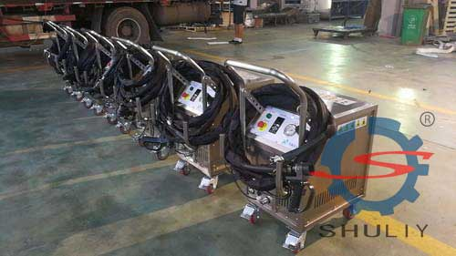 dry ice blasting machine in stock