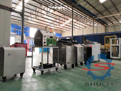 dry ice blasting machine workshop
