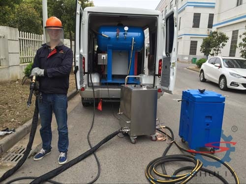 commercial dry ice cleaning machine